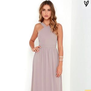 Lulu's Air of Romance Bridesmaid's Dress